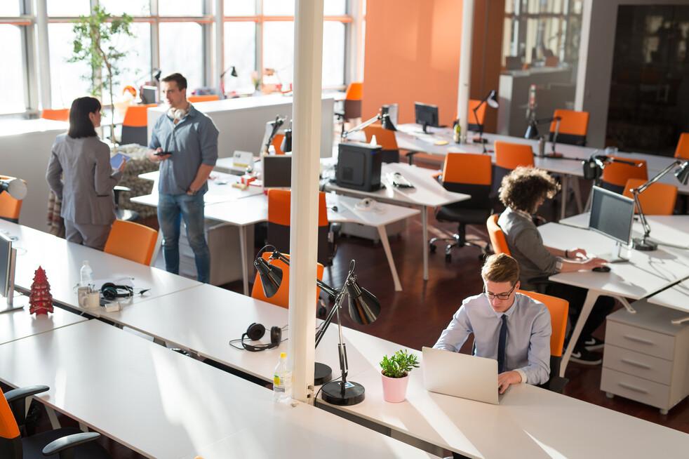 Rediseño de los espacios de trabajo después de la emergencia ...