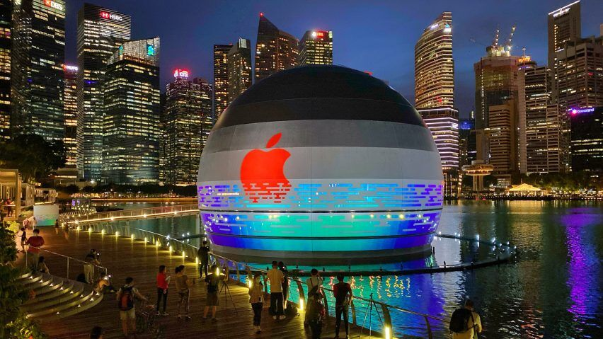 Apple inaugurará tienda flotante en Singapur – Inmobiliare